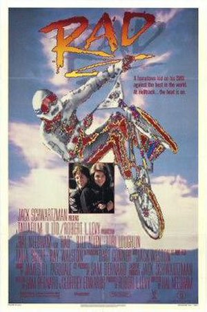 Rad (film) - Theatrical release poster