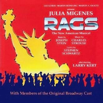 Rags (musical) - Studio Recording