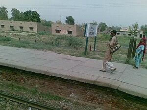 Abdul Hakeem, Pakistan - Abdul Hakim railway station