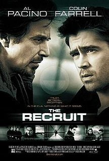 <i>The Recruit</i> 2003 film by Roger Donaldson