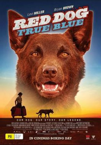 Red Dog: True Blue - Theatrical film poster