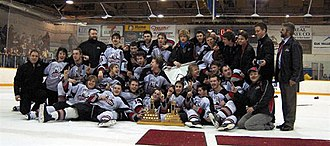 Fernie Ghostriders - 2007 KIJHL Championship Photo