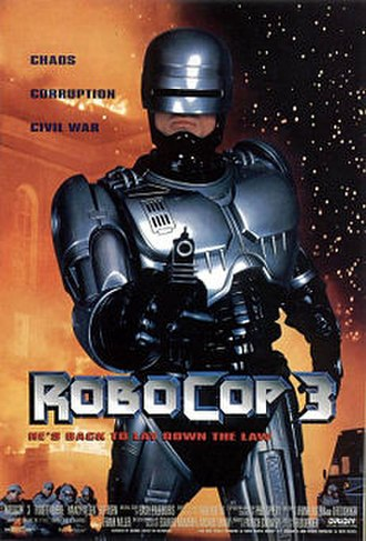 RoboCop 3 - Theatrical release poster