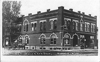 Rushmore, Minnesota - Bank and General Store, Rushmore, Minnesota