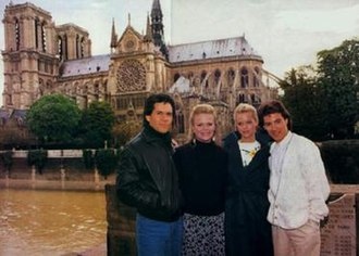 Santa Barbara (TV series) - The show's popularity in France spun off a storyline in which Eden Capwell (Marcy Walker), Cruz Castillo (A Martinez), Kelly Capwell (Carrington Garland) and Ric Castillo (Peter Love) went to Paris to search after Eden's and Cruz's child.