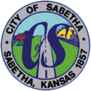 Sabetha, Kansas - Image: Sabetha Kansas Seal