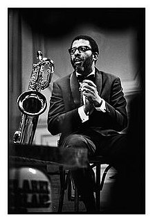 Sahib Shihab American jazz saxophonist and flautist