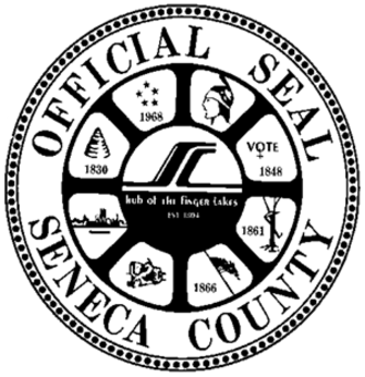 Seneca County, New York - Image: Seal of Seneca County, New York