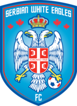 Serbian White Eagles' crest