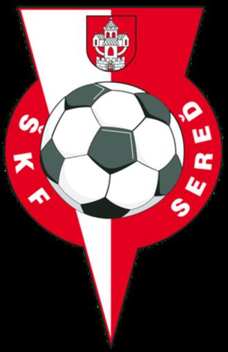 ŠKF Sereď - Image: Skf sered