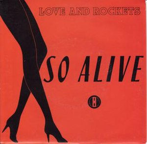 So Alive (Love and Rockets song) - Image: So Alive single