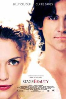 <i>Stage Beauty</i> 2004 film by Richard Eyre