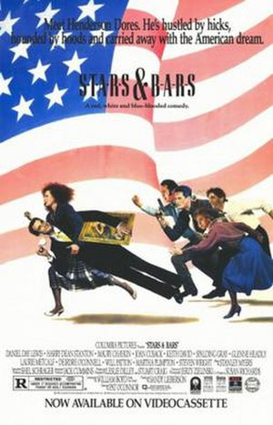 Stars and Bars (1988 film) - Theatrical release poster