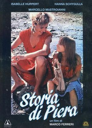 The Story of Piera - Film poster
