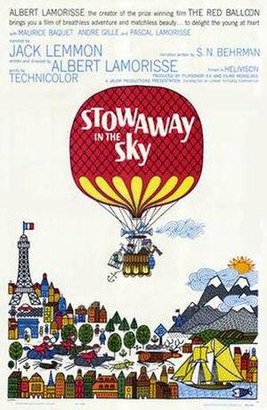 Stowaway in the Sky - U.K. Theatrical Poster
