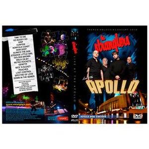 Live at the Apollo 2010 - Image: Stranglers Live at the Apollo 2010 DVD Cover