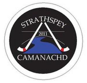 Strathspey Camanachd - Image: Strathspey Camanachd Crest