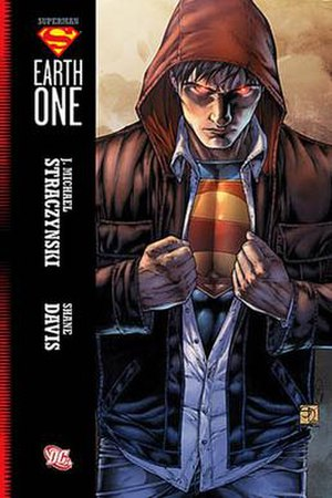 Superman: Earth One - Cover for Superman: Earth One by Shane Davis.
