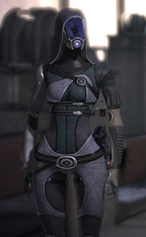 Tali'Zorah - Image: Tali in Mass Effect 1