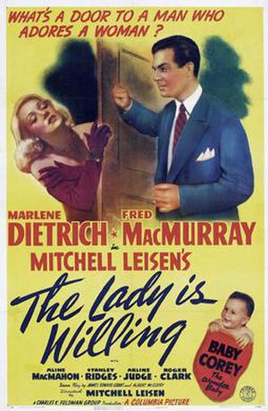 The Lady Is Willing (1942 film) - Film poster