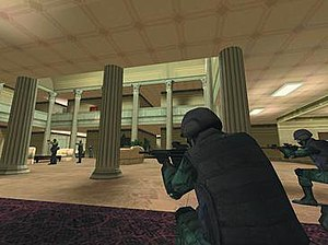 The Sum of All Fears (video game) - A screenshot showing the PC version of the game.