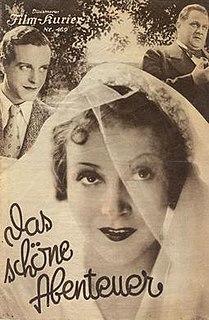 <i>The Beautiful Adventure</i> (1932 German-language film) 1932 film