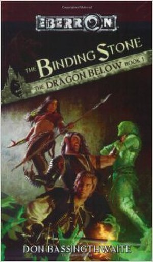 The Binding Stone - Cover of the first edition