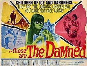 These Are the Damned - Theatrical release poster