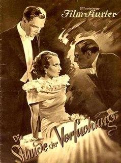 <i>The Hour of Temptation</i> 1936 film