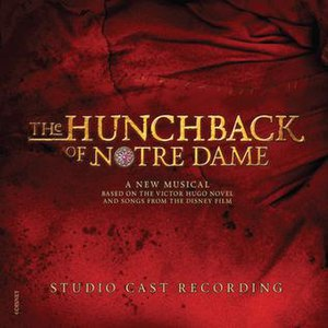 The Hunchback of Notre Dame (musical) - Image: The Hunchback of Notre Dame cover
