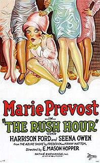 <i>The Rush Hour</i> 1928 film