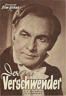 <i>The Spendthrift</i> (1953 film) 1953 film by Leopold Hainisch