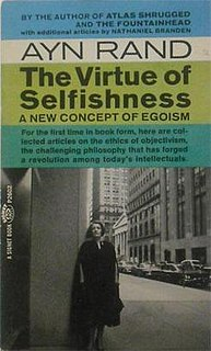 <i>The Virtue of Selfishness</i> book by Ayn Rand