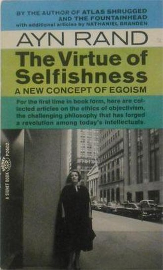 The Virtue of Selfishness - Cover of the 1964 Signet Books edition