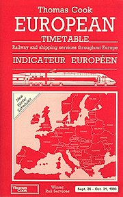 Thomas Cook European Timetable cover Sept 26 1993.jpg