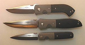 Ernest Emerson -  Viper Knives: MV-5, MV-3, and MV-1