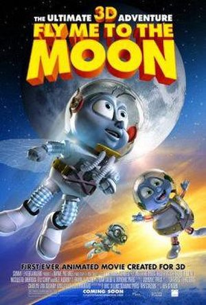 Fly Me to the Moon (film) - Theatrical release poster