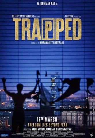 Trapped (2016 Hindi film) - Theatrical release poster