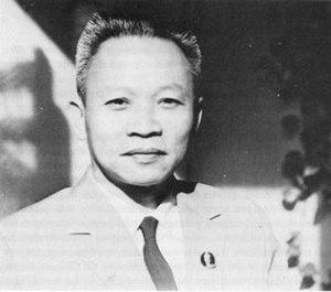 Trương Như Tảng - Trương Như Tảng in 1976 as the Minister of Justice