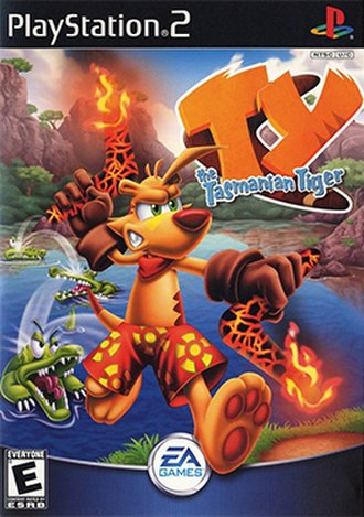 Ty the Tasmanian Tiger - Image: Ty the Tasmanian Tiger Coverart