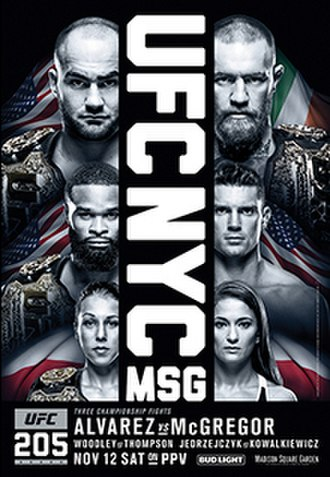 UFC 205 - Image: UFC 205 event poster