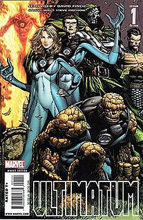 <i>Ultimatum</i> (comics) comic book series published by Marvel