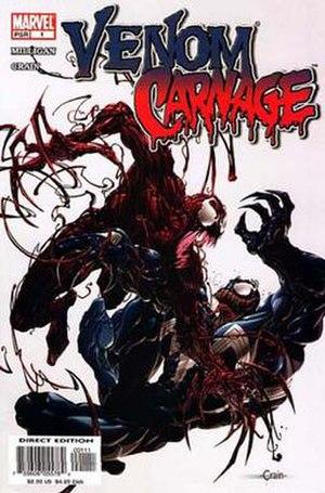 Venom vs. Carnage - Image: Venom vs carnage 01