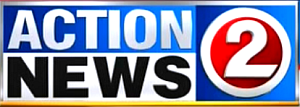 "WBAY-TV - WBAY's logo for ""Action 2 News""."