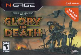 <i>Warhammer 40,000: Glory in Death</i> 2006 video game