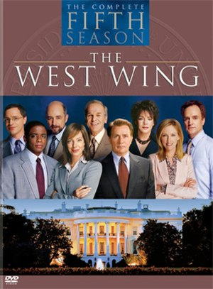 The West Wing (season 5) - Image: West Wing S5 DVD