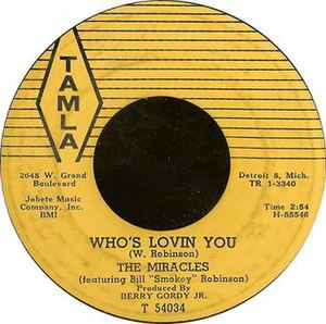 Who's Lovin' You - Image: Whoslovinyoucover