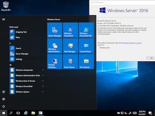 Windows Server 2016 Microsoft Windows Server operating system released in 2016