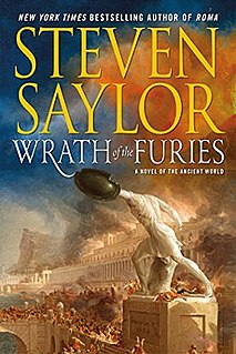 <i>Wrath of the Furies</i> book by Steven Saylor