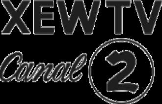Las Estrellas - Image: XEW TV Canal 2 1950 logo
